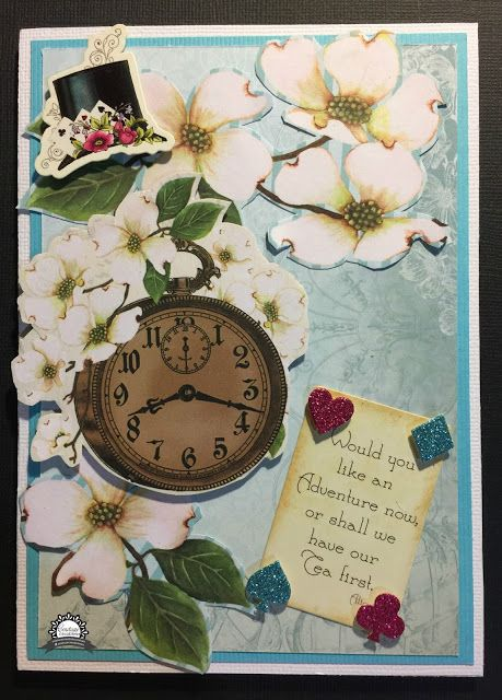 Artdeco Creations Brands: Shall we have tea first by Anita Enright