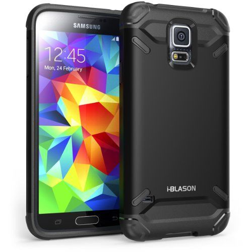 i-Blason Samsung Galaxy S5 Case- Armadillo Series 2 Layer Armored Hybrid Cover with Inner Soft Case and Hard Outter... - List price: $39.99 Price: $2.99