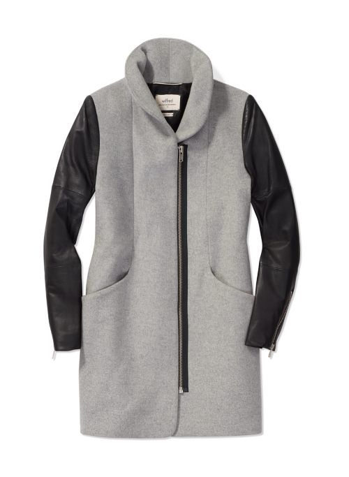 Wilfred Cocoon Wool Coat, now available at Aritzia.com.