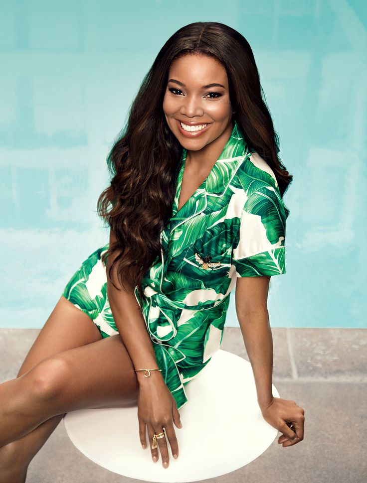 Gabrielle Union for Ocean Drive May 2016