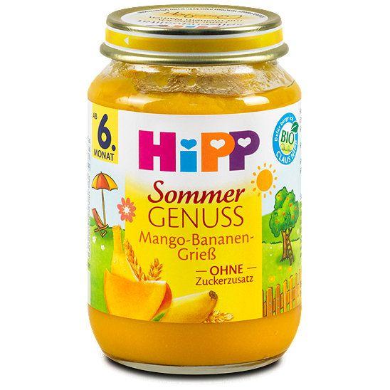 Hipp Fruchtbrei Sommergenuss Mango-Bananen-Grieß, Babybreie, Fruchtbreie aus dem dm Online Shop.