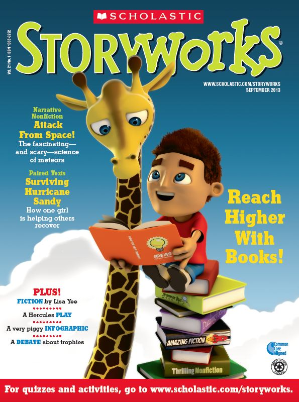 Scholastic Storyworks Is Looking To Be Named Periodical Of The Year