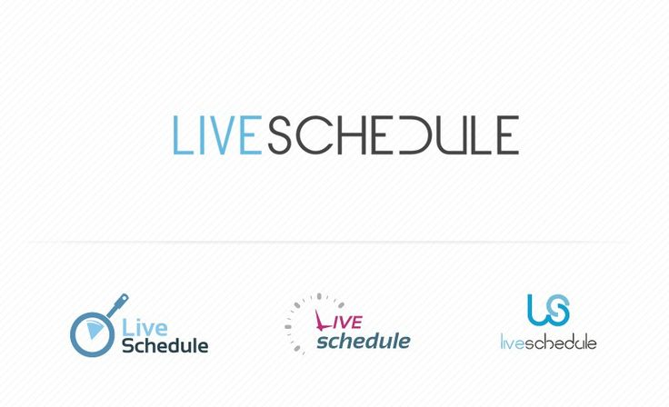 LiveSchedule logo created by Merixstudio