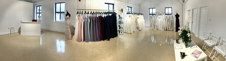 Zadika Bridal showroom pano view