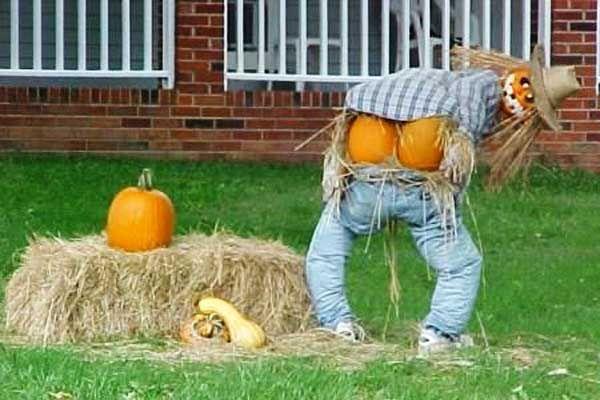 Creepy, Cool & Creative Scarecrow Ideas - too cute!!!!!