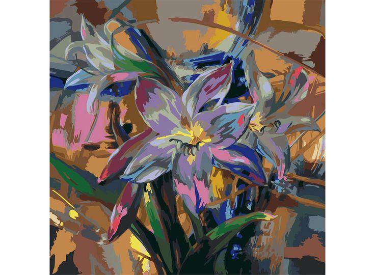 Картина по номерам, paint by numbers, раскраска по номерам, купить картину по номерам - Неоновые краски лета - Zvetnoe.ru - раскраски по номерам, картины по номерам, алмазная мозаика