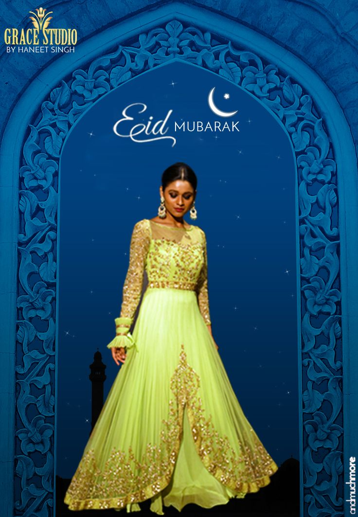 """Our new """"Eid Collection"""" would make you love the way we mould trend into tradition.  #3dsignaturework#studiojaipur#jaipurart#gracestudio#fashionboutique#haneetsingh#graceful#attire#classy#eid#getthelook#mint#intricate#elegant#studioludhiana"""