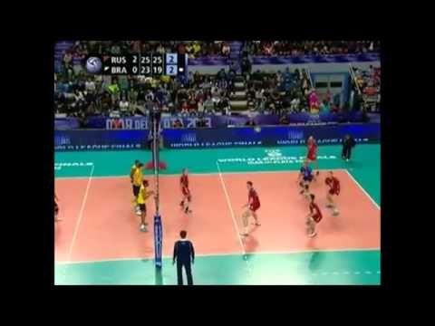 YouTube - Brasil vs Russia - Final - Melhores Momentos - Liga Mundial de Volei - 2013