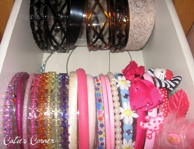 25 best ideas about hair band storage on pinterest hair for Plastic bottle storage