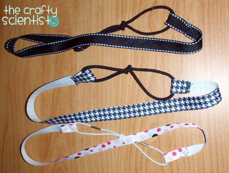 ribbon headbands tutorial #crafty scientist #tutorial #ribbon #headbands #hair accessories