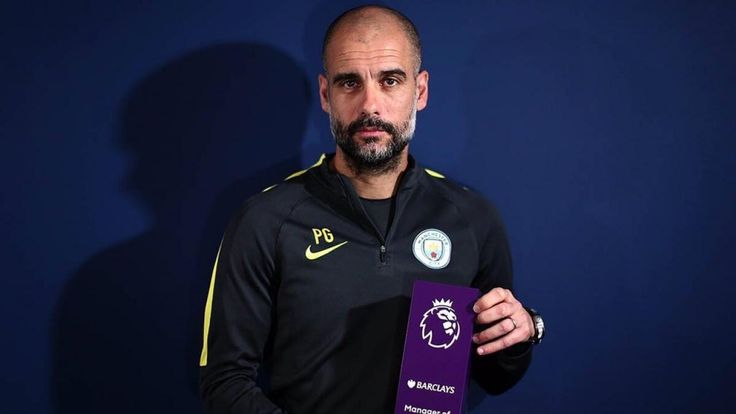 Pep #Guardiola Is Disgusted At Receiving The #EPL Manager Of The Month Award. #PepGuardiola #Pep #managerofthemonth #soccerawards #soccermanager #soccerstaff