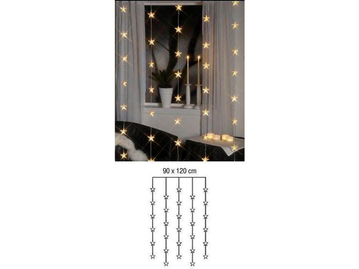 Star Trading LED Lichtervorhang Stern 30