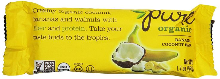 Pure Organic Bar, Banana Coconut, 1.7 Ounce (Pack of 12) * You can find out more details at the link of the image.