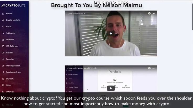 CryptoSuite Live Demo-New CryptoCurrency Software 2018 By Luke Maigure