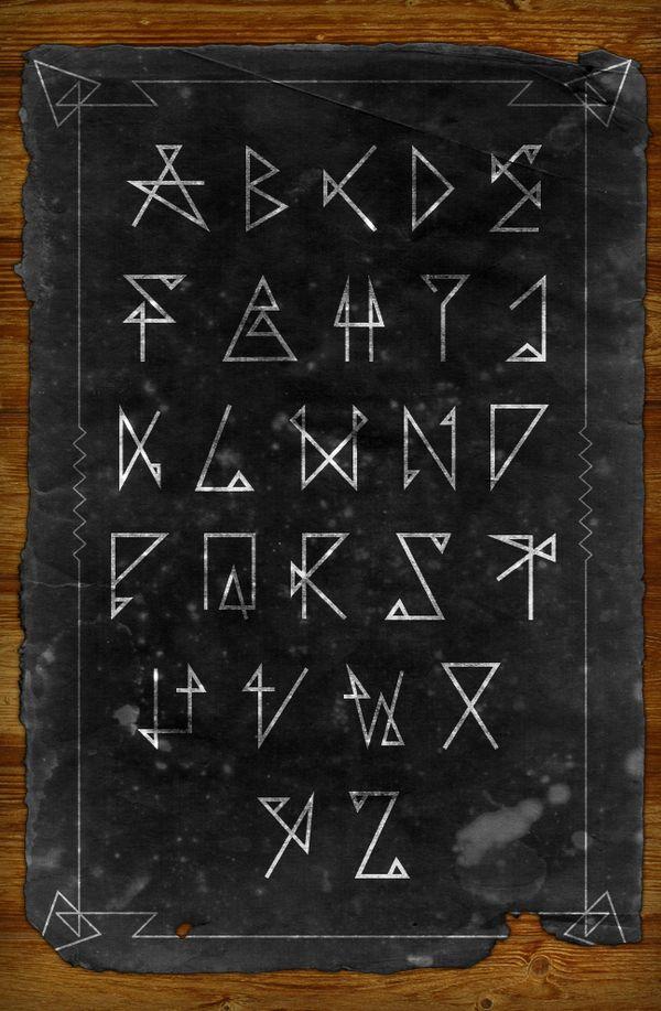 Spiritum typography by Christophe Barneau, via Behance