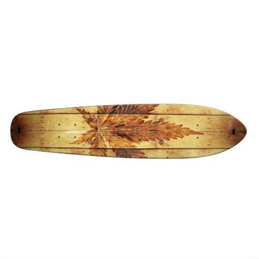 Burnin'weed skateboards #skateboard #weed #wood