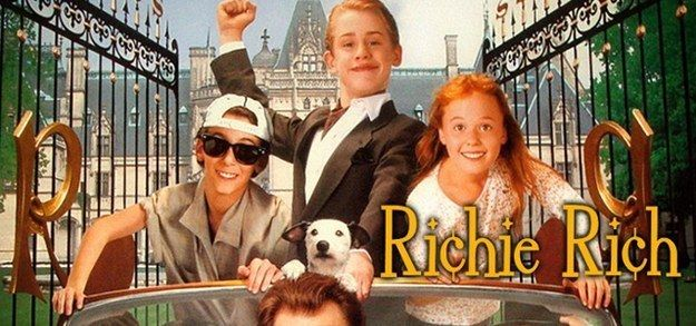 "The year was 1994 and Macauley Culkin's star was at peak post-Home Alone levels. Enter Richie Rich. | ""Richie Rich"" Was The Most Important Film Of Your Childhood"