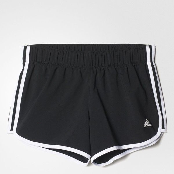 adidas M10 3-Stripes Shorts - Black | adidas UK ($33) ❤ liked on Polyvore featuring shorts, adidas, adidas shorts, stripe shorts and striped shorts