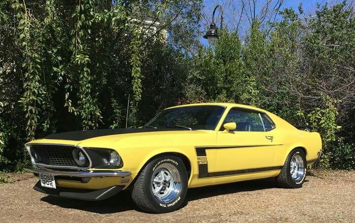 69 Mustang Boss 302