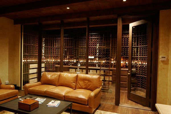 Basement Wine Cellar Ideas | ictured above, is the beautiful Eddie Merlot's in Louisville, KY.