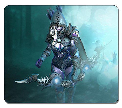 Customized Non-Slip Large Textured Surface Water Resistent Mousepad Drow Ranger Dota 2 Custom Skin Durable Large Gaming Mouse Pads Oblong Mousepad