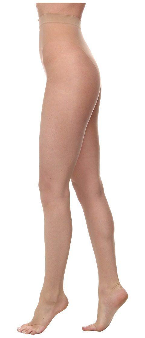 Big fan control top toeless pantyhose