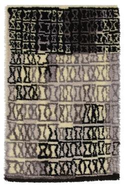 Kirsti Ilvessalo, Wool Rug, 1956.