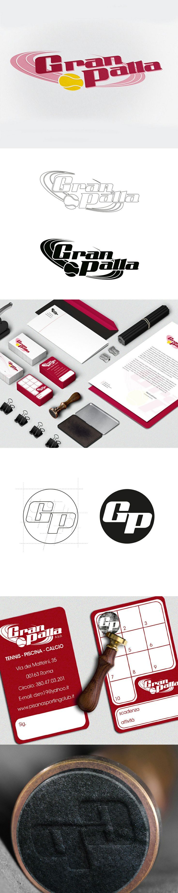 SIMONE BOI | GRAPHIC DESIGNER Logo GranPalla www.simoneboi.it