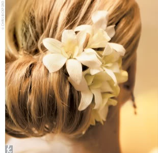 Flowers for Bridesmaids Hair