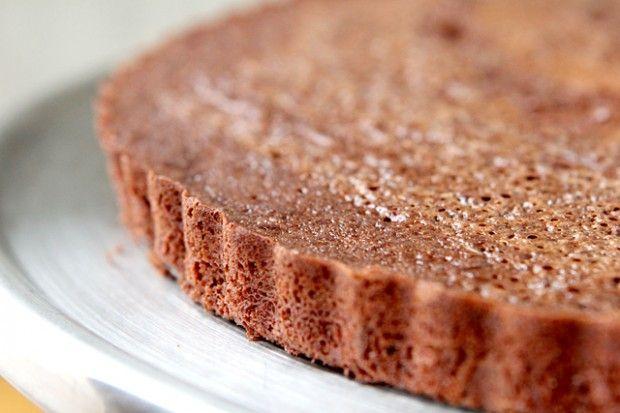 Flourless chocolate torte.: Free, Cakes Cupcakes Cakeballs, Soft Peak, Parisian Hot Chocolate Recipe, Add, Gluten, Egg, Cakes Cupcakes Muffins, Healthy Treats