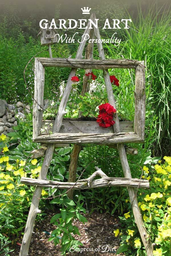 Garden Art Ideas during its urban nature exhibit the denver botanic gardens showed visitors how easy and aesthetically pleasing it can be to take ordinary castoffs and Best 25 Garden Art Ideas On Pinterest