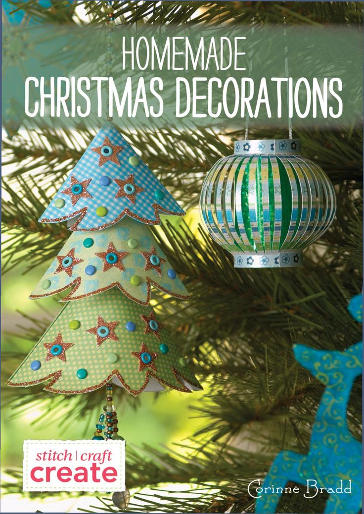 Homemade christmas decoration mag craft pinterest for Fun decorations for christmas