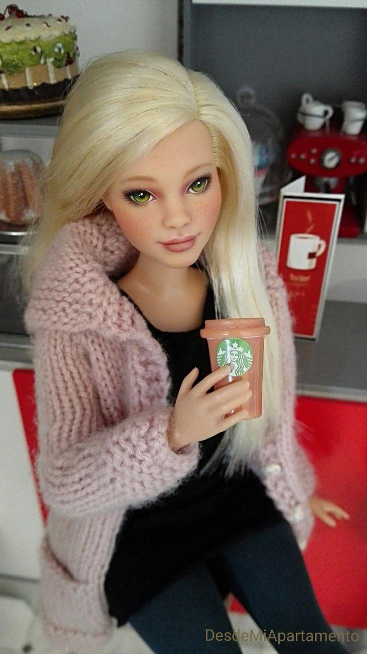 https://flic.kr/p/NabXuE | BRIDGET..❤❤ Ooak Barbie Curvy #barbie #Diorama #roombox #fashiondolls