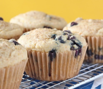 Blueberry Cornmeal Muffins | Vegan Breads, Pizzas, Quiches, Savory Ta ...