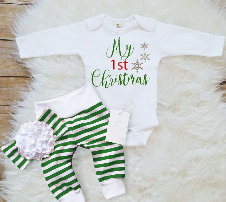 my first christmas baby girl christmas outfit baby 1st christmas set baby boy christmas outfit green stripe leggings christmas baby gift by LLPreciousCreations on Etsy https://www.etsy.com/listing/479869662/my-first-christmas-baby-girl-christmas