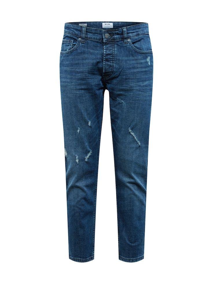 Only & Sons Jeans 'WEFT' Herren, Blue Denim, Größe 28