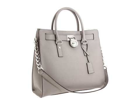 black and gray michael kors bag f759  michael kors gray tote