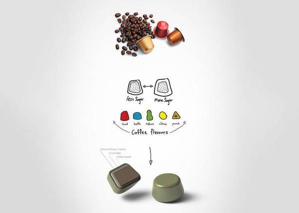 Ecco capsula caffè 'green', zucchero al posto della plastica