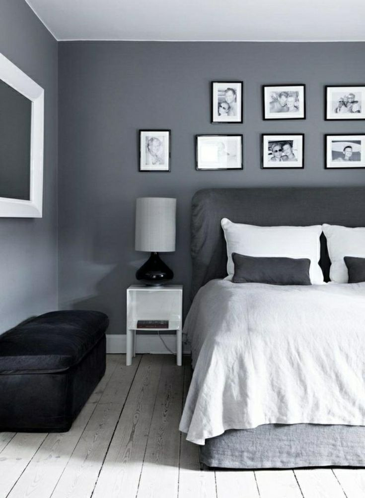 Wall Color Gray For A Harmonious And Modern Wall Design