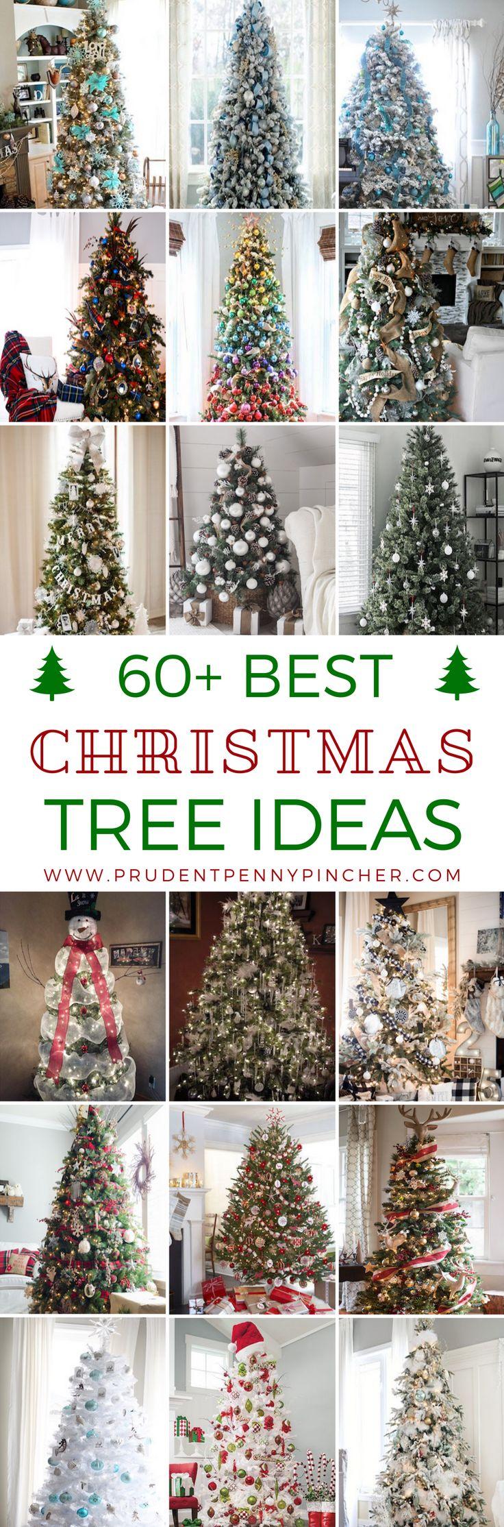 60 Best Christmas Tree Ideas 1210 best