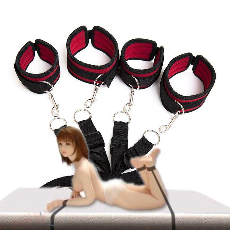 2 Seri Bdsm Perbudakan Tali Nilon Spons Di Bawah Bed Pengekangan alat Dengan Borgol Mainan Seks Untuk Pasangan Atau Wanita Dewasa game