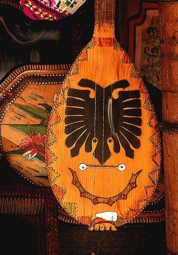 Albanian traditional instrument
