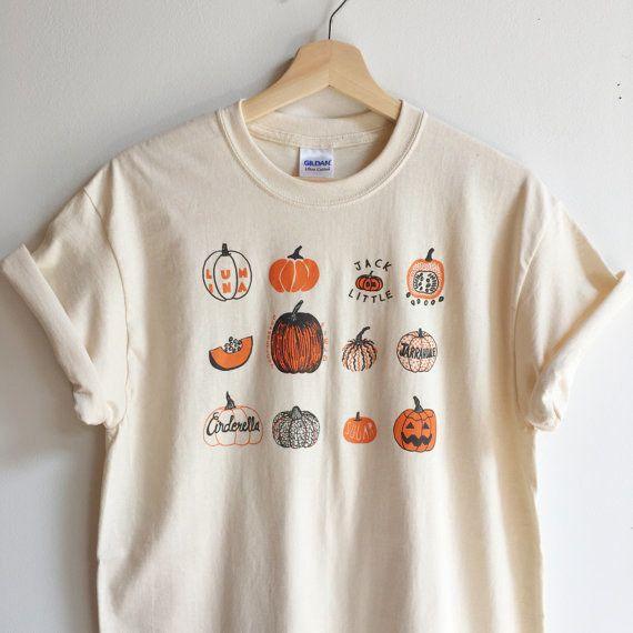 This unisex shirt for pumpkin lovers: 1