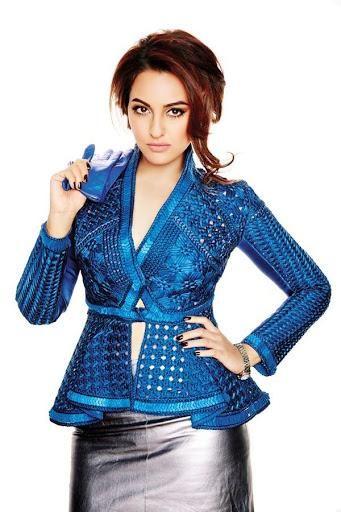 Sonakshi Sinha in Beautiful Slim Top