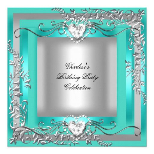Tiffany Themed Party For Keira S 18th Birthday: 17 Best Images About Tiffany Blue Birthday Theme On