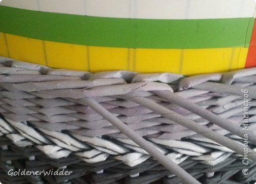 Материалы и инструменты Плетение Ленивая Ленивая   Трубочки бумажные фото 6