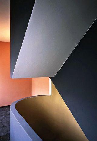 Le Corbusier  peinture Keim nuancier LC chez Marius Aurenti