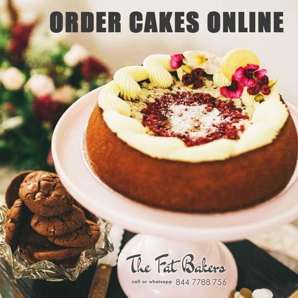 Order Cake Online in New Delhi, India from The Fat Bakers- Best Price Shop. Send Black Forest, Butter Scotch, Chocolate, Fruits & Nuts, Kiwi, Pineapple, and Vanilla Cakes Online.  Call or WhatsApp +91- 844 -7788 - 756 or Visit: - http://thefatbakers.com/cakes-in-new-delhi.html