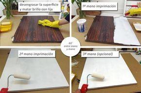 Renová tus muebles de fórmica o melamina - Revista OHLALÁ! - Revista Ohlalá!
