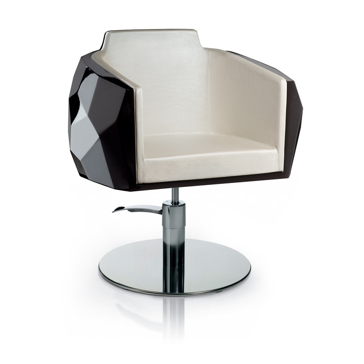 Discover All The Information About The Product Vinyl Beauty Salon Chair /  Central Base / With Hydraulic Pump / Swivel FASHION : CRYSTALCOIFF By Fendi  Casa ...